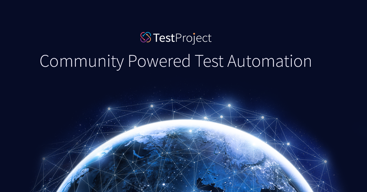 Community Powered Test Automation – TestProject