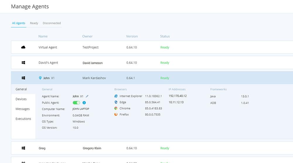 Centralized agent management_TestProject